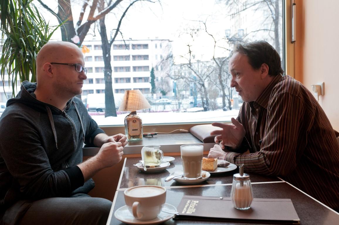Andreas Lange und Robert Glashüttner